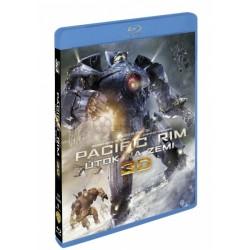 BluRay 3D Pacific Rim - Útok na Zemi - 3BD (3D+2D)