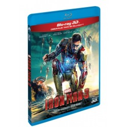 BluRay 3D Iron Man 3. - 2BD (3D+2D)