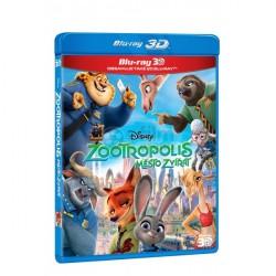 BluRay 3D Zootropolis: Město zvířat 2BD (3D+2D)