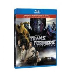 BluRay 3D Transformetrs: Poslední rytíř 2BD (3D+bonus)