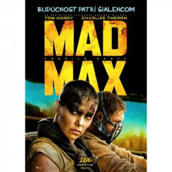 BluRay 3D Šílený Max: Zběsilá cesta - 2BD(3D+2D)
