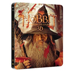 BluRay 3D Hobit - Neočekávaná cesta 4BD (3D+2D)+bon.d - steelbook