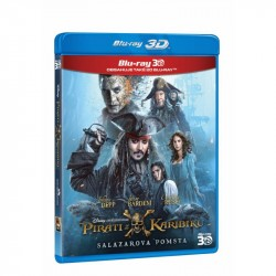 3D Piráti z Karibiku 5:Salazarova pomsta 2BD (3D+2D) film