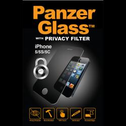 PanzerGlass iPhone 5/5S/5C/SE Privacy sklo ochranné číra