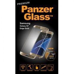 PanzerGlass PREMIUM Samsung Galaxy S7 Edge sklo ochranné zlaté