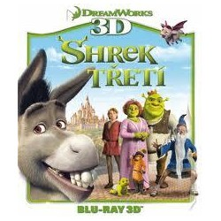 BluRay 3D Shrek tretí BD 3D
