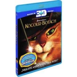 BluRay 3D Kocúr v čižmách BD (3D+2D)