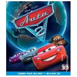 BluRay 3D Auta 2 BD 3D+2D