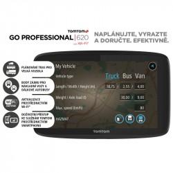 TOMTOM GO PROF 620 EU navigácia