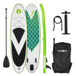 KLARFIT Spreestar 320 paddleboard nafukovací SUP sada zelená