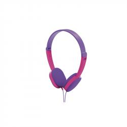 HAMA 177014 slúchadlá detské káblové fialovo-ružové