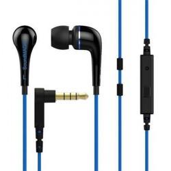 SoundMAGIC ES11S slúchadlá in-ear + headset, čierna/modra (M)