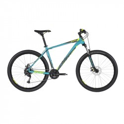 KELLYS SPIDER 10 Turquoise S 2019 27,5´´ horský bicykel