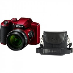 NIKON COOLPIX B600 Red + púzdro 16 MP, 60x zoom VR VQA091K001