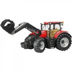 BRUDER CASE IH OPTUM 300 CVX traktor S NAKLADAČOM