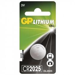 GP CR2025 - 3V lithium batéria