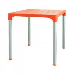 stôl terasový VIVA,oranžový