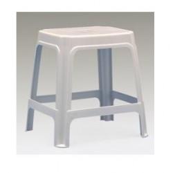 stolička UNIVER,plast,biela