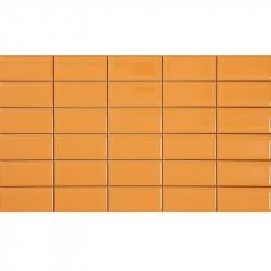 PERONDA Cosmo obklad Polis-Na 23 x 40 oranžový lesklý POLISNA